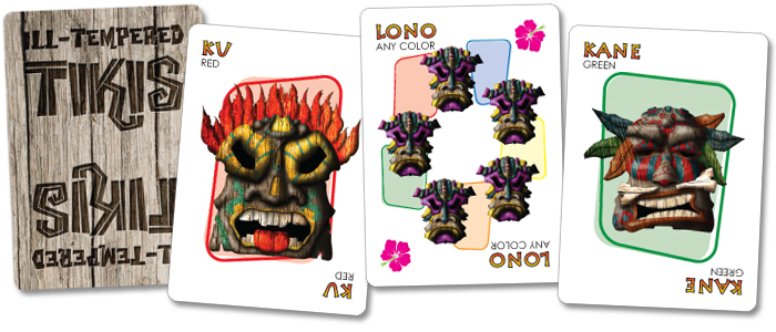 Ill-tempeted Tiki Cards