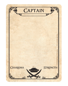Captain Card - Face