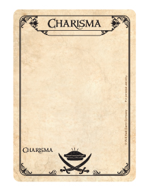 Common Card - Charisma - Face