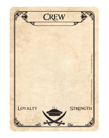 Common Card - Crew - Face