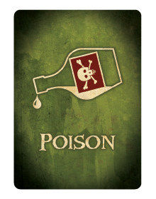 Poison Card - Back