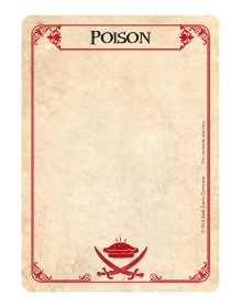 Poison Card - Face